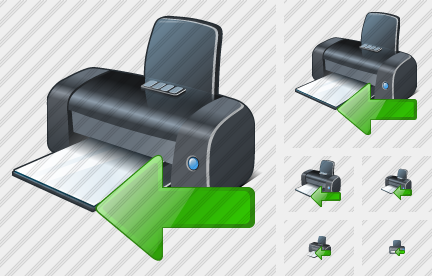 Printer Import Icon
