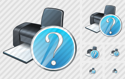 Printer Question Icon