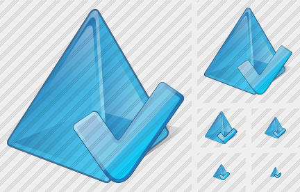 Pyramid Ok Icon