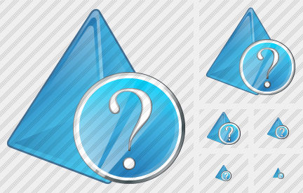 Pyramid Question Icon