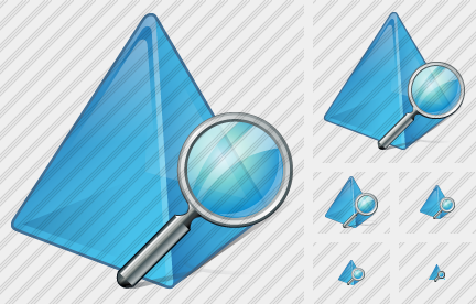 Pyramid Search Icon