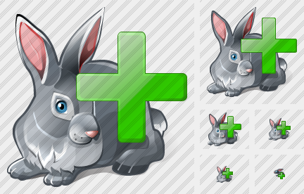 Rabbit Add Icon