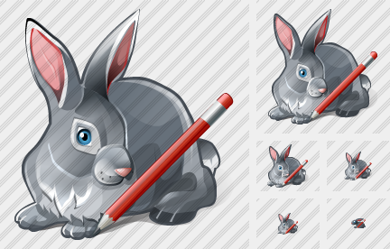 Rabbit Edit Icon