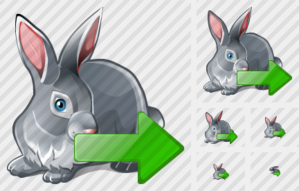 Rabbit Export Icon