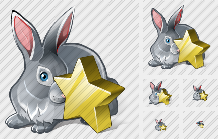 Rabbit Favorite Icon