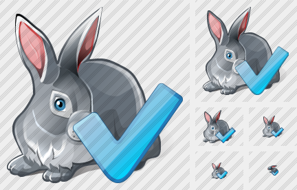Rabbit OK Icon