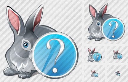 Rabbit Question Icon