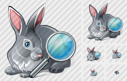 Rabbit Search Icon
