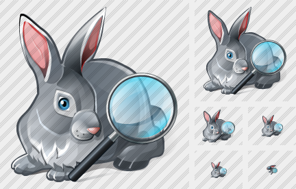 Rabbit Search 2 Symbol