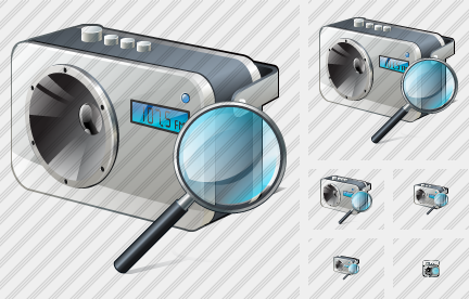 Radio Search 2 Icon