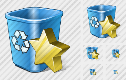 Recycle Bin Favorite Symbol