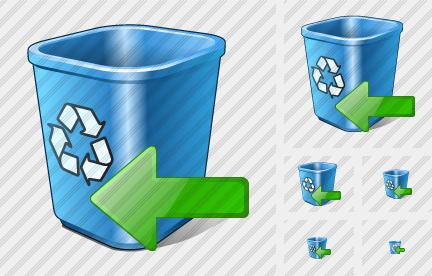 Recycle Bin Import Icon
