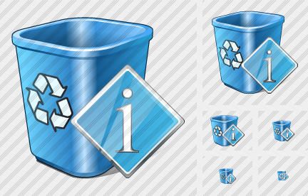 Recycle Bin Info Icon