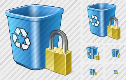 Icône Recycle Bin Locked