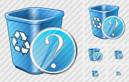 Icône Recycle Bin Question