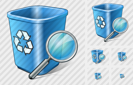 Recycle Bin Search Symbol