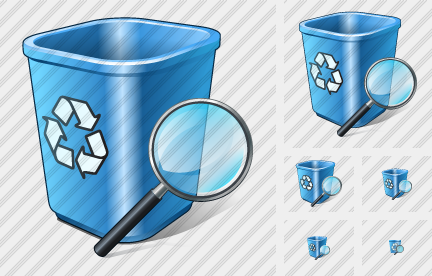 Icône Recycle Bin Search 2