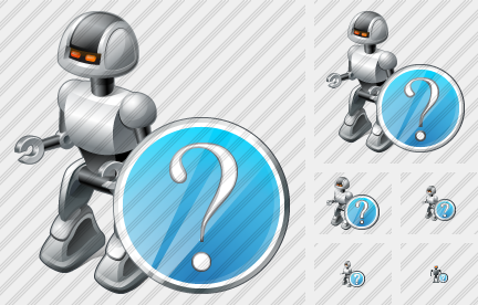 Robot Question Icon