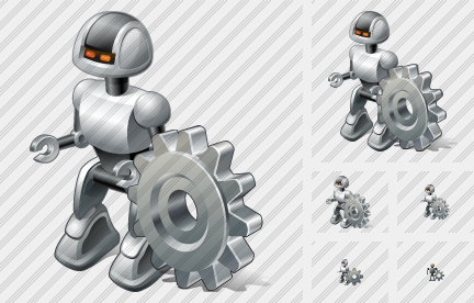 Robot Settings Icon