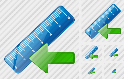 Ruler Import Icon