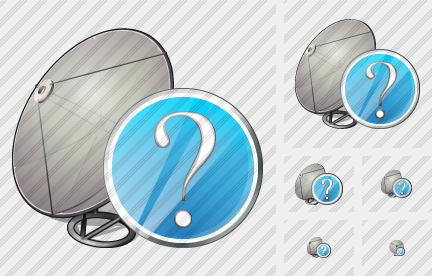 Satellite Plate Question Icon
