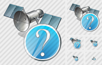 Satellite Question Icon