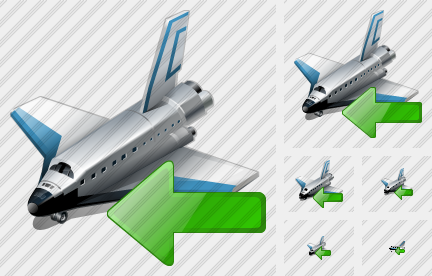 Shuttle Import Icon