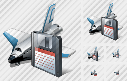 Shuttle Save Icon