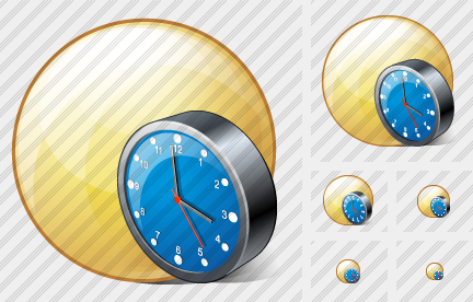 Sphere Clock Icon