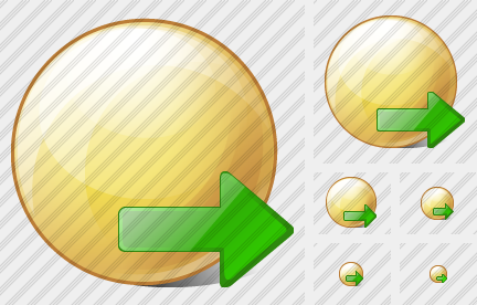 Sphere Export Icon