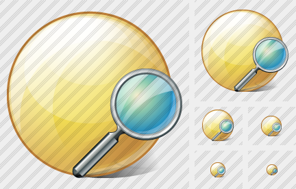 Sphere Search Icon