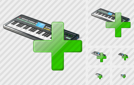 Synthesizer Add Symbol
