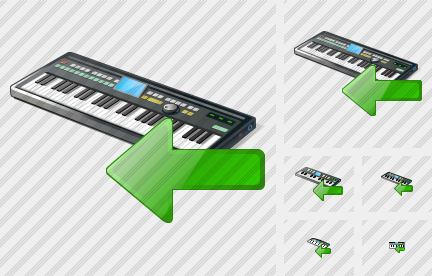 Synthesizer Import Icon