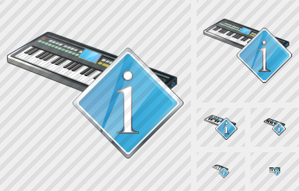 Synthesizer Info Symbol