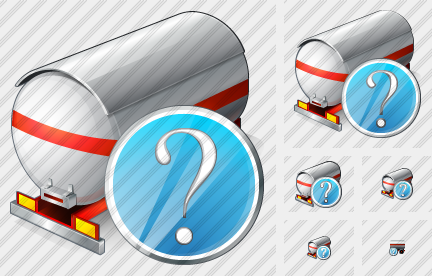 Tank Truck Question Icon