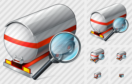 Tank Truck Search 2 Icon