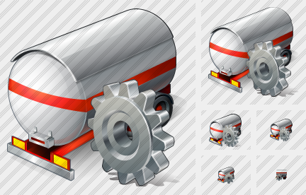 Tank Truck Settings Icon