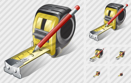 Tape Measure Edit Icon