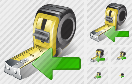 Tape Measure Import Icon