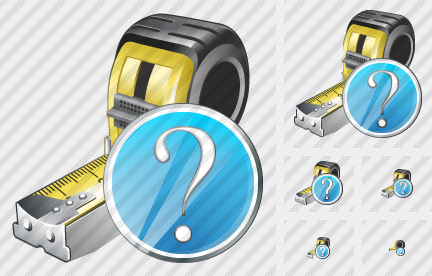 Tape Measure Question Icon