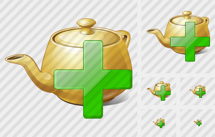 Teapot Add Icon