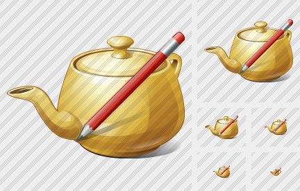 Teapot Edit Icon