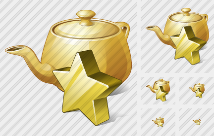 Teapot Favorite Icon