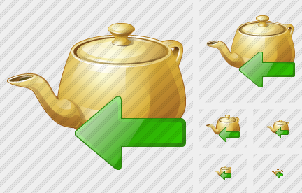 Teapot Import Icon
