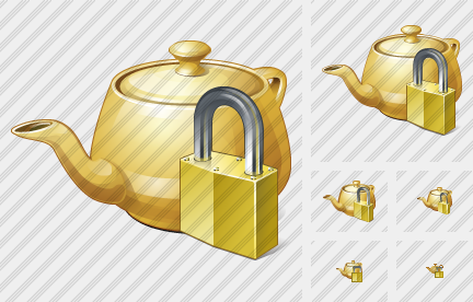Teapot Locked Symbol
