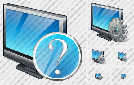 Television Question Icon