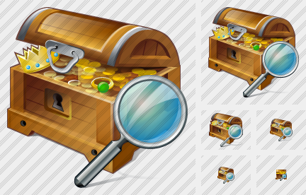 Treasure Search Icon