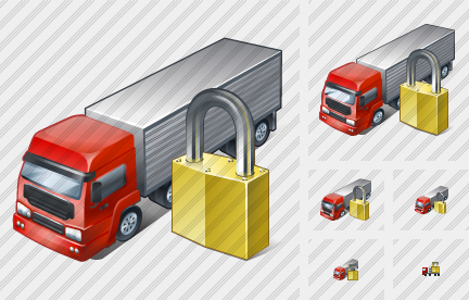 Truck Locked Icon