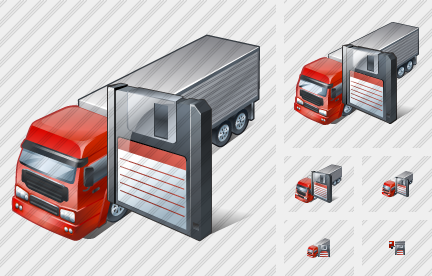 Truck Save Icon