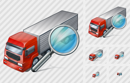 Truck Search Icon